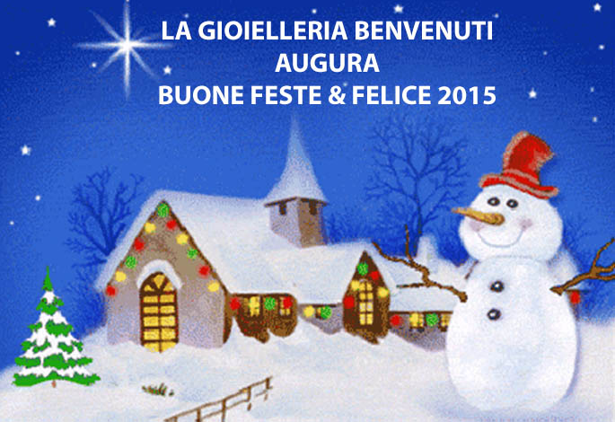 Buone Feste e Felice 2015!